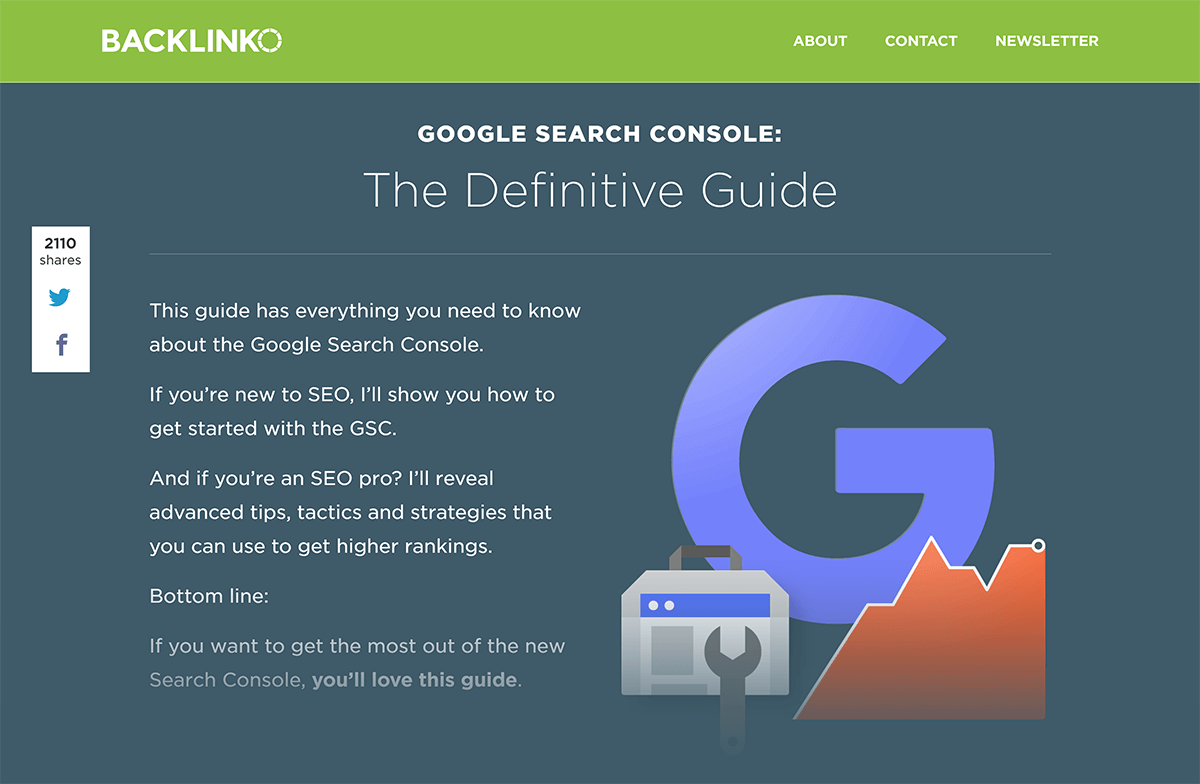 "Backlinko Post ""Google Search Console"""