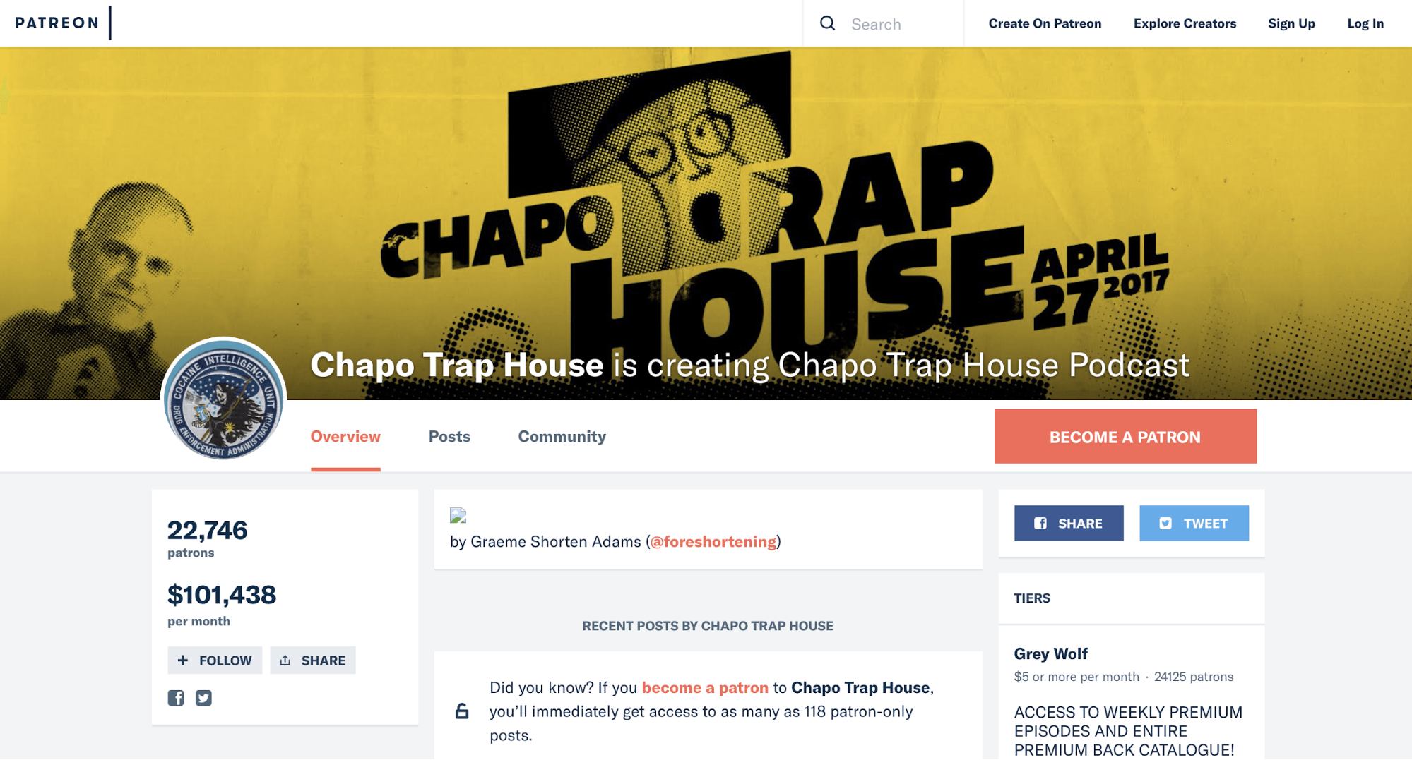 Patreon Chapo Trap House